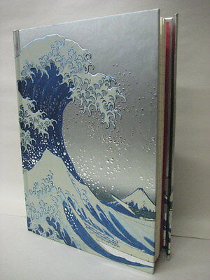 Hokusai The Great Wave Lined Blank Journal Magnetic Closure