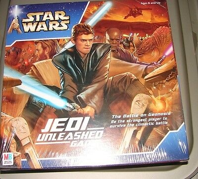 Star Wars AOTC jedi unleashed game MISB sealed attack of the Clones  AOTC512