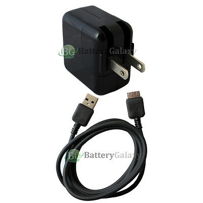 Battery Wall AC Charger+USB 3.0 Micro Cable for Samsung Galaxy Note Tab Pro 12.2