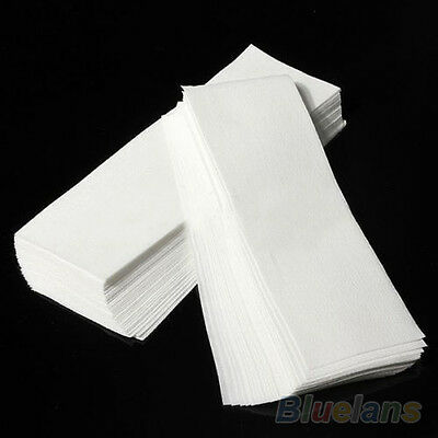 80Pcs Wax Strips Papers Leg Body Hair Removal Depilatory Waxing Nonwoven Cloth