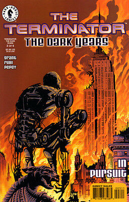 TERMINATOR The Dark Years (1999) #3 (of 4) - Back Issue
