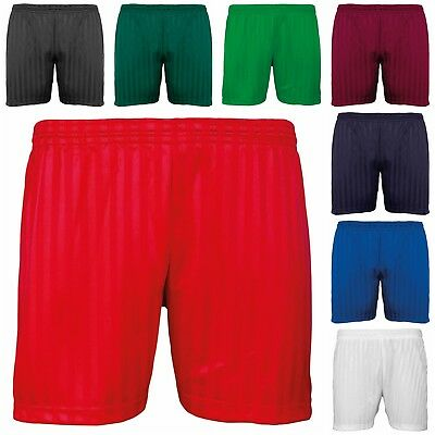 New Kids Sports P.e Gym School Training Play Time Fitness Stripe Shorts