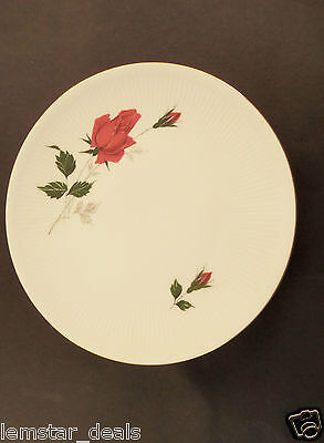 Z & Co. Tirschenreuth Bavaria Dessert Plate  Pink Rose Design  Replacement