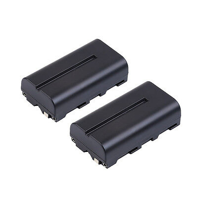 2x Li-ion NP-F550 NP-F330 NP-F570 F750 F930 F950 Battery for Sony Mavica Camera