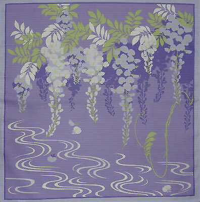 Furoshiki Wrapping Cloth Japanese 'Wisteria' Fabric Cotton 50cm