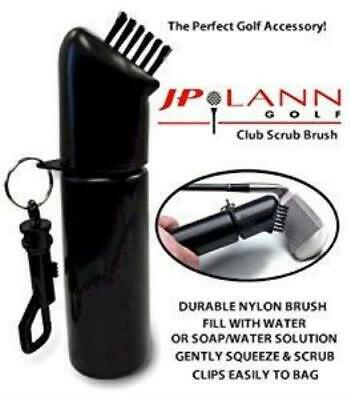 OnCourse Scrubbie Brush - Easily Attaches to Golf Bag