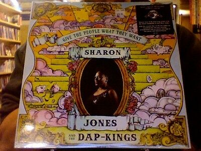 Sharon Jones and the Dap-Kings Give the People What They Want LP sealed vinyl