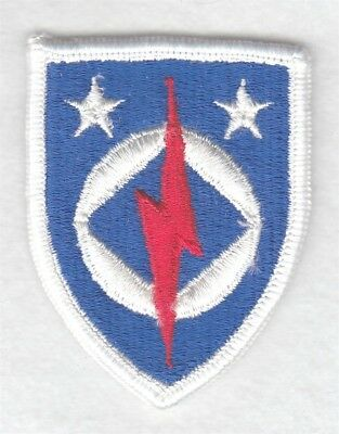 Army Patch:  Computer Systems Command - merrowed edge