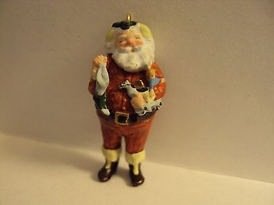 "Hallmark Miniature 1988   ""JOLLY ST. NICK""   Ornament    New in Box"