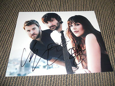Lady Antebellum Band Signed Autographed 8x10 Photo By all 3 PSA Guaranteed