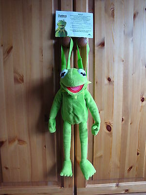 Kermit The Frog Backpack - Muppets / Days Out / Holiday / Pre School - 45cm tall