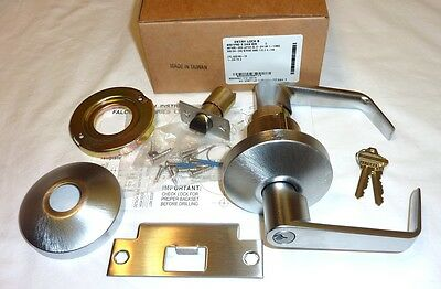 Falcon B501P6D DAN 626 Commercial Entry Door Lock Grade 2 w/ Keys SATIN CHROME