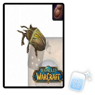 Sand Scarab loot card UNSCRATCHED Tomb of the Forgotten WORLD OF WARCRAFT WOW