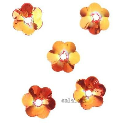 6000/30000pcs New Arrival Colorful Flower Beads End Caps Fit Jewelry Making C
