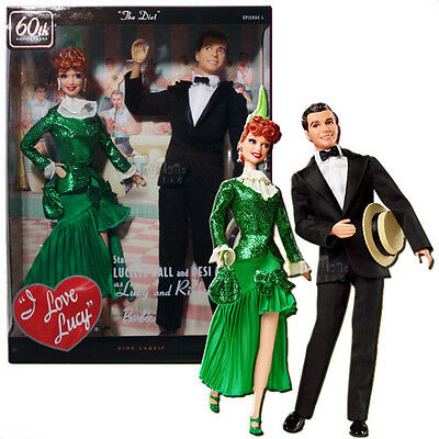 Barbie I Love Lucy The Diet Lucy & Ricky 60th Anniversary Box Set T7901