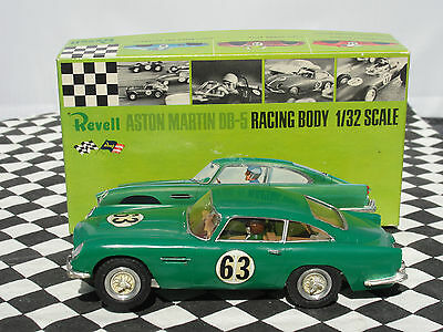 Revell Aston Martin Db-5 #63 Green 1960's 1.32  Used Boxed