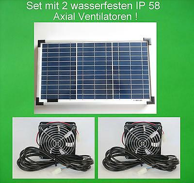 20 watt solarl fter mit 2 axial ventilatoren. Black Bedroom Furniture Sets. Home Design Ideas