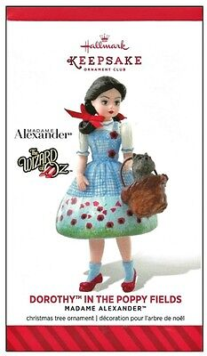 2014 Hallmark KOC Madame Alexander Dorothy in the Poppy Fields Ornament!