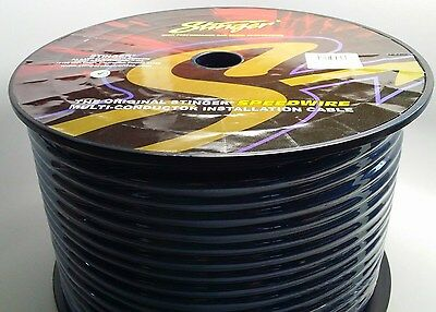 Stinger 50 feet 9 conductor speedwire 18 gauge awg speaker wire Remote SGW9950