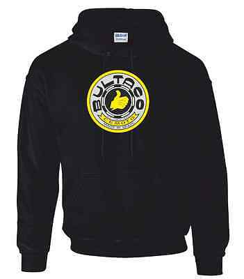 Bultaco Round Style  Motorcycle Printed Hoodie in 5 Sizes