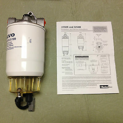 Volvo Truck Fuel Filter Water Separator Assembly 21329844 Filter 85121709