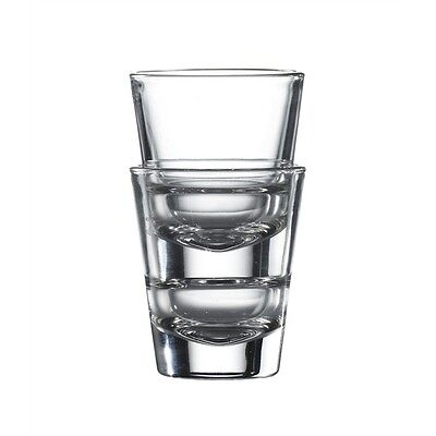 Stacking Shot Glass - 45ml - Pack of 6 Glasses
