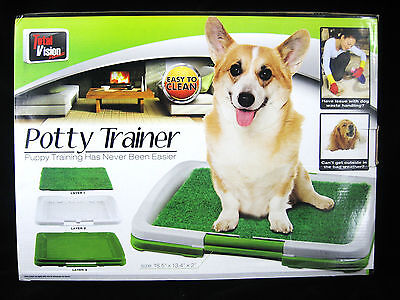 Dog Puppy Potty Trainer Indoor Grass Training Patch Mat - NEW - FREE SHIPPING