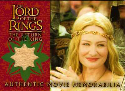 Lord of the Rings Return the King Update Eowyn's Coronation Dress Costume Card