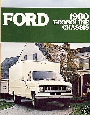 Truck Brochure - Ford - Econoline - Chassis - 1980 (TB679)