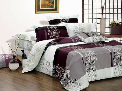 MAISY Duvet/Doona/Quilt Cover Set Queen/King/Super King Size Bed New 100% Cotton
