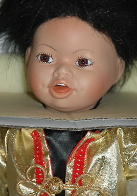 Yoto 1993 Porcelain Doll Chinese New Year By Valerie Shelton From World Gallery