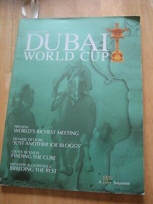 2006 DUBAI WORLD CUP HORSE RACING Souvenir Magazine