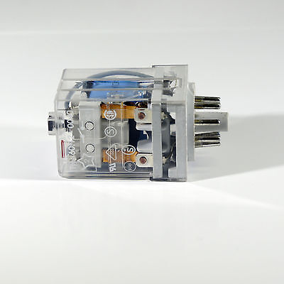 RS DPDT Plug In Non-Latching Relay, 10A, 24V DC 350-591 | G36