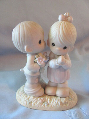 1990 Love Is From Above Precious Moments  521841 Bow & Arrow Stamp