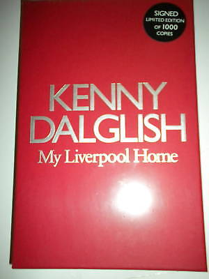 Kenny Dalglish  Liverpool -  My Liverpool Home Signed Book Ltd Edition Sealed