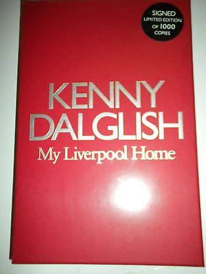 Kenny Dalglish  My Liverpool Home Signed Book Limited Edition 1/1000 In Slipcase
