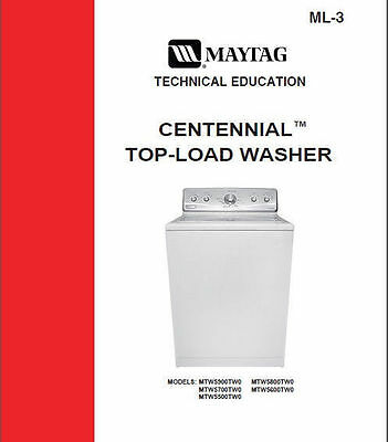 maytag centennial washer service repair manual 9 99 picclick rh picclick com maytag centennial washer manual mvwc360aw0 maytag centennial washer manual mvwc200xw