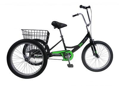 """Concept Tri Mantis Pedal Pals Boys 20"""" Trike Tricycle Basket Special Needs PP13"""