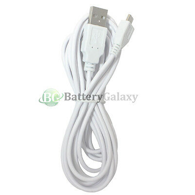 25 USB 10FT Micro Charger Cable Cord for Phone Samsung Galaxy S2 S3 S4 S5 S6 S7