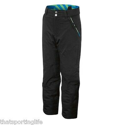 Arctic Star Kids Boys Black / Multi Snow Ski Pants New 5000 / 5000 Waterproof