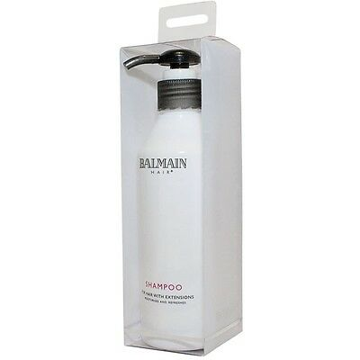 Balmain Shampoo For All Hair Extensions Inc, Human Professional Quality 250ml