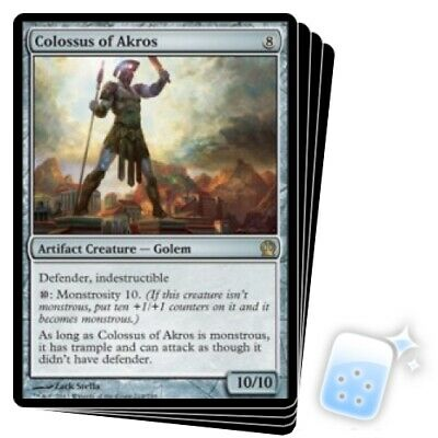 Colossus of Akros Theros NM Artifact Rare MAGIC THE GATHERING CARD ABUGames