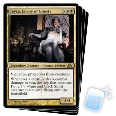 Envoy of Ghosts FOIL Dragon/'s Maze PLD White Black Rare CARD ABUGames Teysa