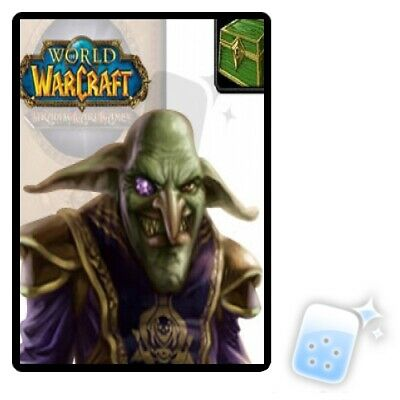 Landro's Gift Box Loot card WORLD OF WARCRAFT WOW TCG NEW Wrathgate UNSCRATCHED