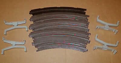 AURORA  AFX BANKED CURVES KIT SLOT CAR TRACK  HO