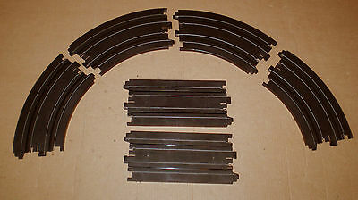 AURORA  AFX LOT 6 SHORT SLOT CAR TRACK  HO