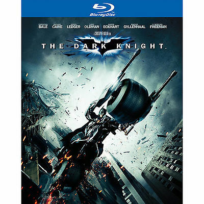 The Dark Knight (Blu-ray Disc, 2008, 2-Disc Set) Great Condition