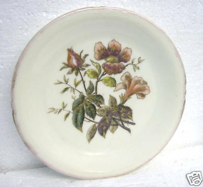 LIMOGES antique hand painted floral decorative plate