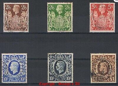 GB 1939 High Value Stamps Mint & Used. Choice of Stamps. FREE UK POST