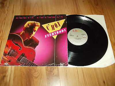 "Eddie Cochran-C'mon everybody-1988 12"" single"